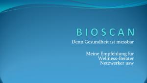Bioscan für Netzwerker
